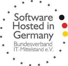"Zertifizierung ""Software hosted in Germany"""